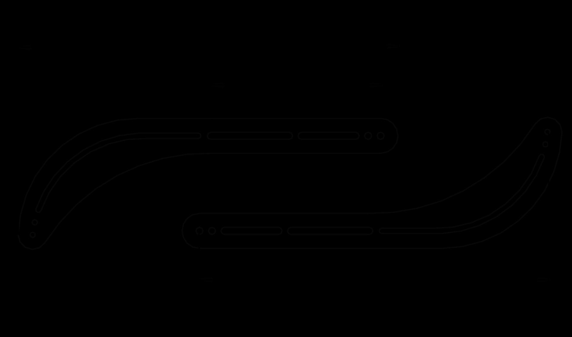 Drawing Lines Sound Effect : Universal sound bar bracket